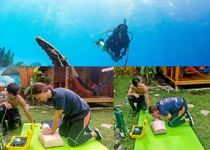 Aqua Ventura PADI Rescue Diver & EFR