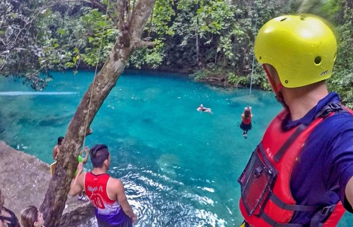 Aqua Ventura Diving-Kawasan Falls Canyooneering
